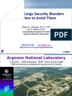 Cargo Security Blunders