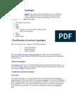Basic Types of Topologies
