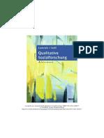 Qualitative Sozialforschung - Beltz