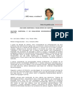 Artigo_Celi_Michele_CULTURA CORPORAL E DUALISMOS DO CAPITAL