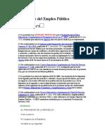 LEY 28175 MARCO DEL EMPLEO PUBLICO
