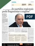 Entrevista de Manuel Alegre em 2006