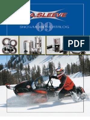 Cometic C3025 Hi-Performance Snowmobile Gasket Kit