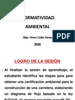 NORMATIVIDAD AMBIENTAL 2020 1- SESION 2