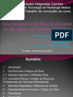 Apresentação1.pptxUma perspectiva do profissionalismo do tecnologo em radiologia medica atual do TCC