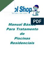 Manual Básico para Tratamento de Piscinas Residenciais