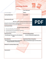 PPHI Sibs Student Self-Learning Guide template
