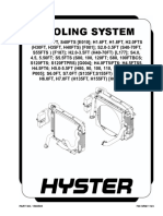 COOLING SYSTEM HYSTER