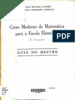 LIVRO ANTIGO – Curso moderno de matemática para a escola elementar – 4º vol. – 1973_Lucilia Behcara Sanchez & Manhúcia Perelberg Liberman