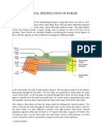 principal specification of boiler