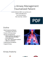 chapter 3 Airway Management in Trauma Patient