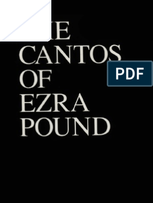 Cantos of Ezra Pound | Nature