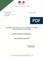 Arrondissement de Marseille - Candidatures Marseille