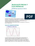 Variables Eléctricas y Electrónicas