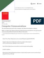 Computer Communications - Journal - Elsevier