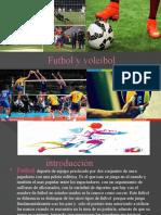 presentacion futbol y voleibol