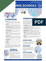 DOE Reopening Schools Guidelines