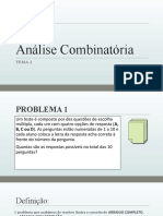 Power Point - Análise Combinatória.pptx