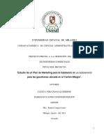 Estudio de un Plan de Marketing para la instalación de un autoservicio para las gasolineras ubicada en el Cantón Milagro.pdf