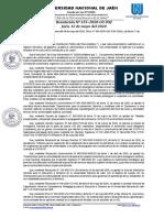 RESOLUCIÓN N° 155-2020-CO-UNJ  APROBAR LAS ORIENTACIONES PARA LA EVALUACIÓN DE LOS APRENDIZAJES anexos