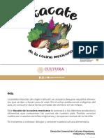 Itacate de la cocina mexicana