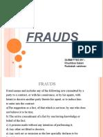 frauds.ppt
