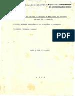 Modelos Geomecânicos de Fundações de Barragens - Camargo