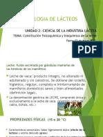 Constitución Fisica y Bioquímica de La Leche