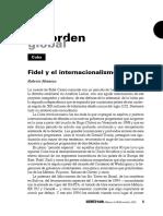 Fidel y el internacionalismo (Roberto Montoya)