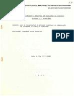 Uso do Dilatômetro e Métodos Especiais de Observação de Furos de Sondagem - Francis