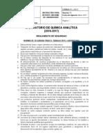 NORMAS DE TRABAJO y seguridad,  formato informe y  especificaciones
