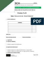 REGULACIÓN DEL TRANSFORMADOR (1)
