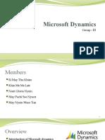 Microsoft Dynamics (G-III)
