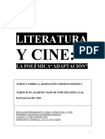 CINE Y LITERATURA