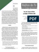 Hojitas de Fe 345 - San José, Esposo de María, y su figura, el Patriarca José.pdf