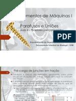 Aula 4 - Pré-carga de junções em tração (estática)