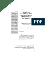 Fernandes, A SOBERANIA DA CLÍNICA- ALÉM DO DIAGNÓSTICO EM PSIQUIATRIA E PSICANÁLISE