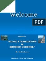 Slope Stabilization & Erosion Control
