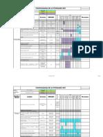 CRONOGRAMA DE ACTIVIDADES COTESAB 2019