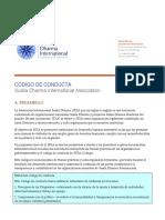 Código de Conducta de la ASDI firmado por PTL