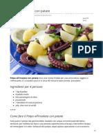 Ricetta Polpo con patate