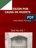 SUCESION POR CAUSA DE MUERTE 2017