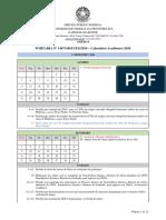 Portaria Nº 1447 GR UFFS 2019 - ANEXO I