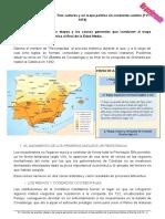 Estándar 12 - Describe el mapa político de la península Ibérica al final de la Edad Media