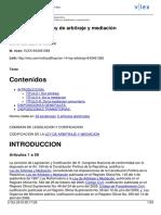 Codificación 14. Ley de arbitraje y mediación-Ecuador