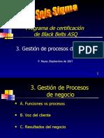 Primitivo Reyes - BB ASQ (2007) - 03 Gestión de Procesos de Negocio
