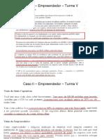 ATIVIDADE DE AULA IV_CASO NEGOCIAÇÃO EMPREENDEDOR TURMA B