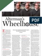 Alterman's Wheelhouse