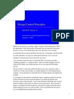 Design control principles[1]