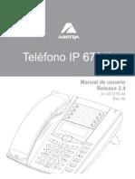 Aastra 6731i IP -- Eud-1178_es